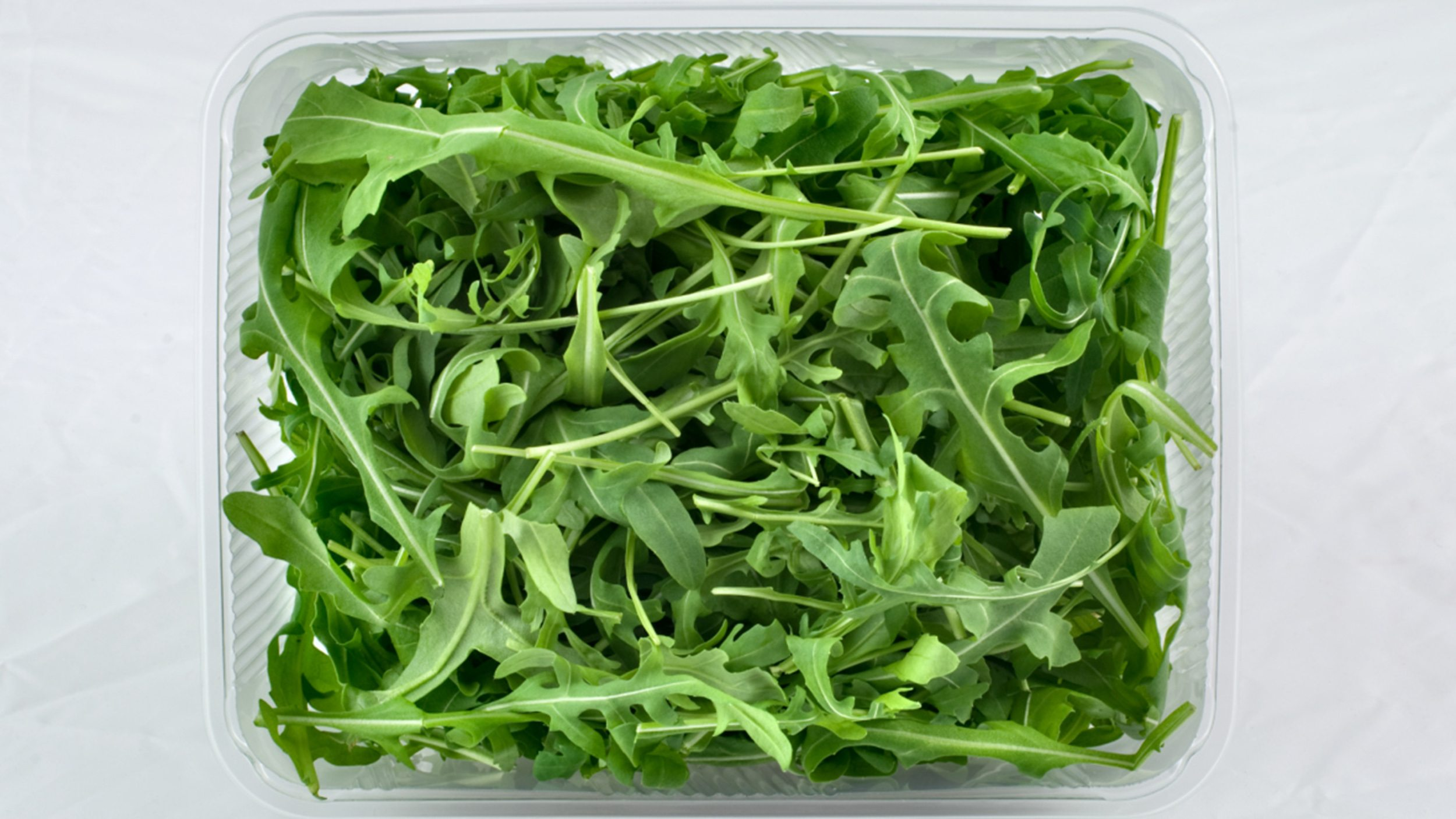A box of salad