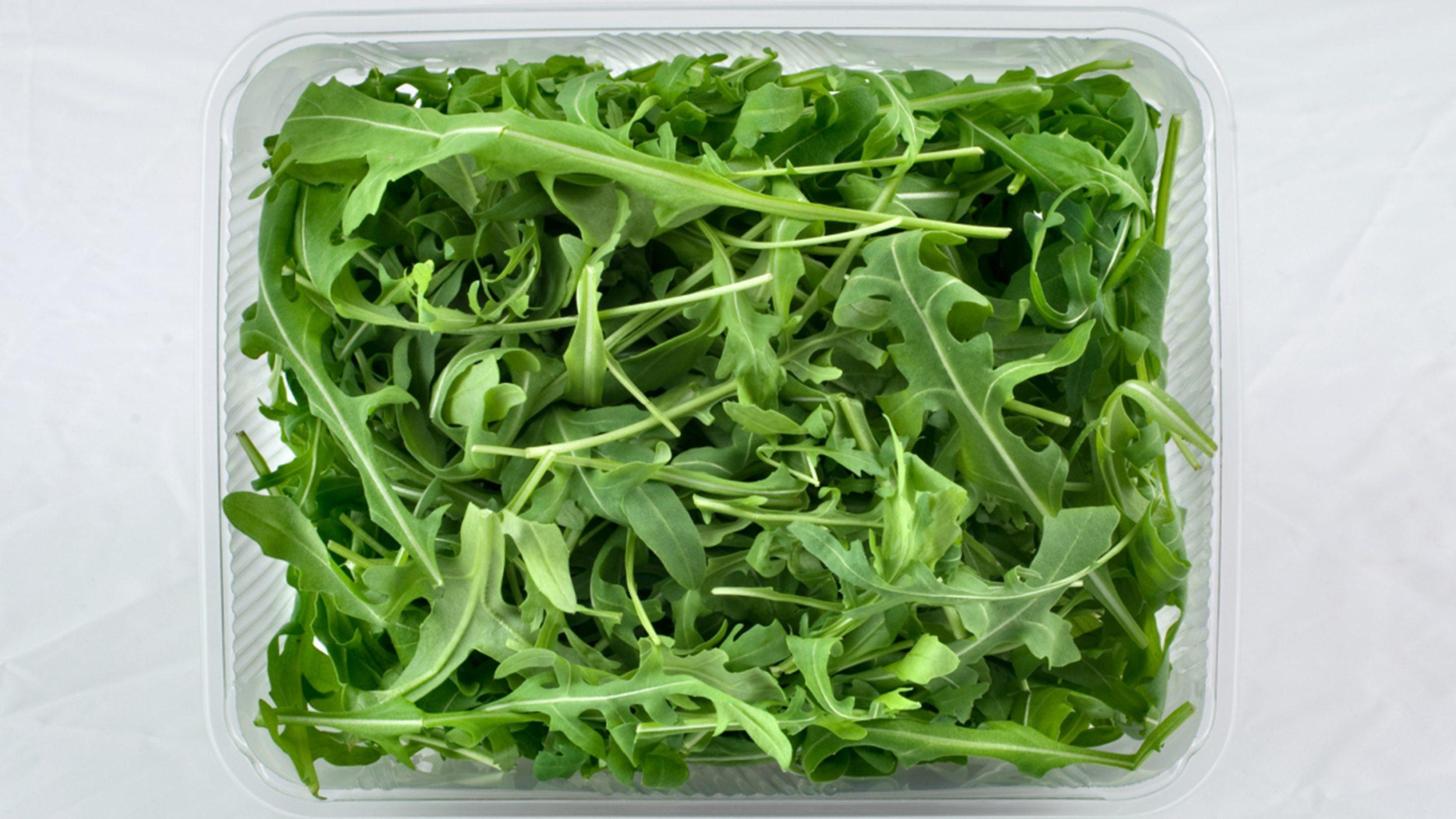 A box of salad