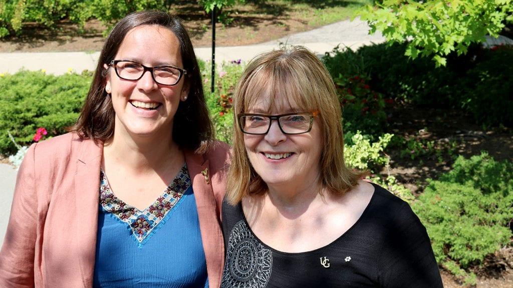 Anita Stewart with Alice Raine